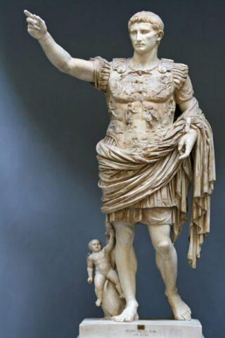 Πηγή εικόνας: wikipedia.gr | Άγαλμα του Οκταβιανού Αυγούστου