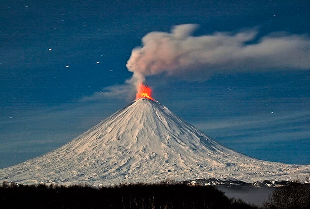 ηφαίστεια και περιβάλλον