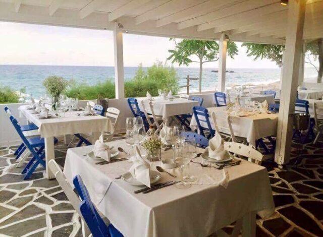 Petalas Restaurant, κουζίνα θαλασσινών