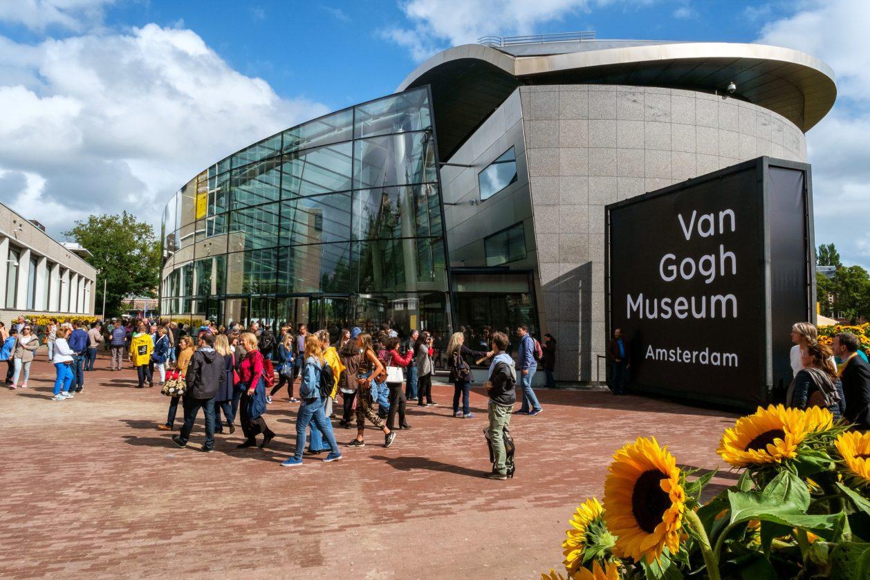 Το μουσείο του Van Gogh στο Άμστερνταμ