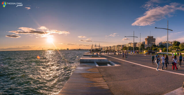 Η προκυμαία της Θεσσαλονίκης ως χώρος για διάβασμα