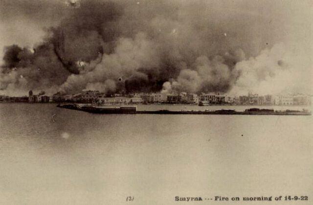 Πηγή εικόνας: lifo.gr| Η μεγάλη πυρκαγιά της Σμύρνης