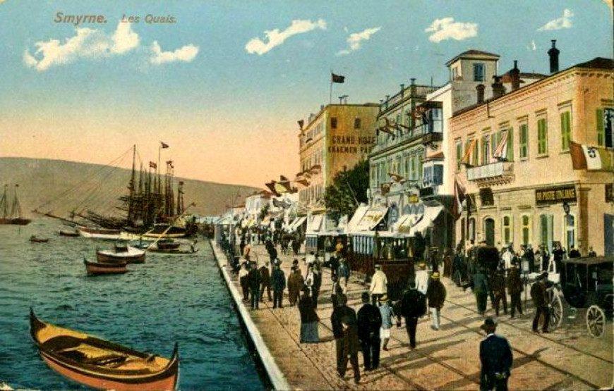 Πηγή εικόνας: lifo.gr|Σμύρνη σε καρτ ποστάλ