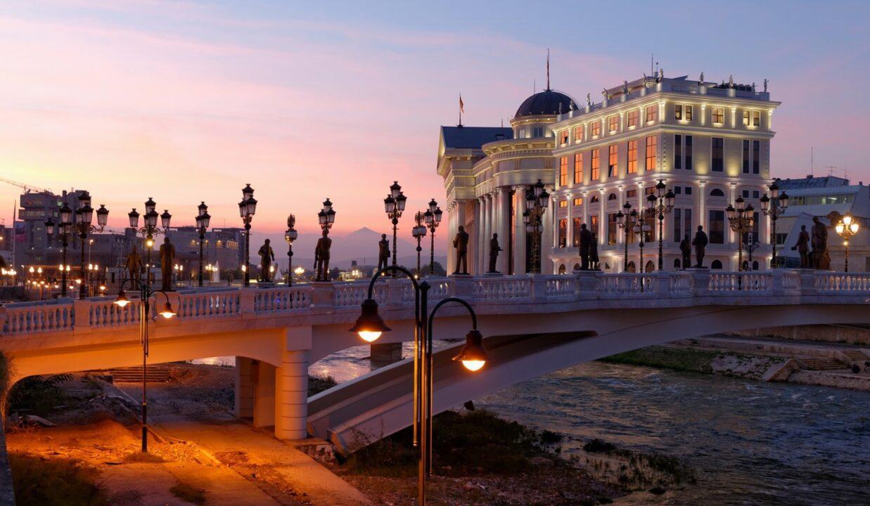 Σκόπια, Σερβία