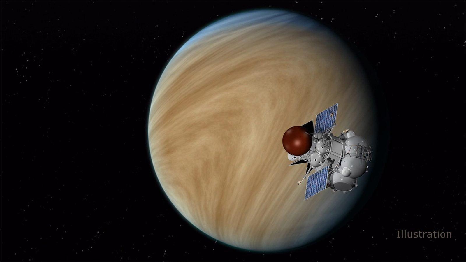 H αποστολή Venera-D με φόντο την Αφροδίτη