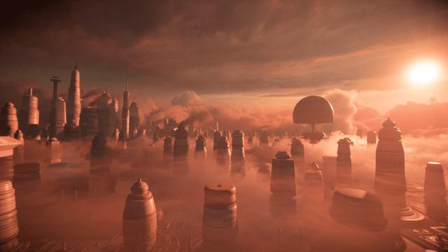 Ζωή στην Αφροδίτη: Πλανήτης Bespin του Star Wars