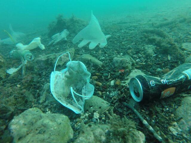 πλαστική ρύπανση, covid19