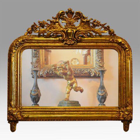 Γαλλικός Louis Philippe καθρέπτης