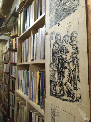 Υπόγειο Παλαιοβιβλιοθήκης.