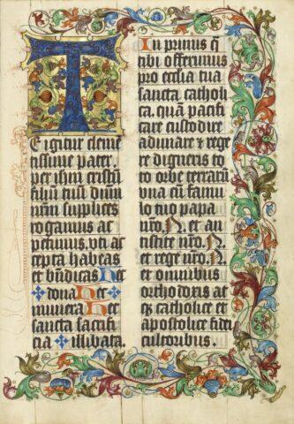 Μεσαιωνικά χειρόγραφα