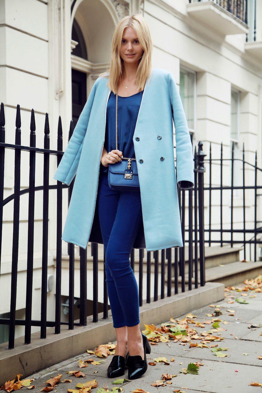 παλτό με χρώματα