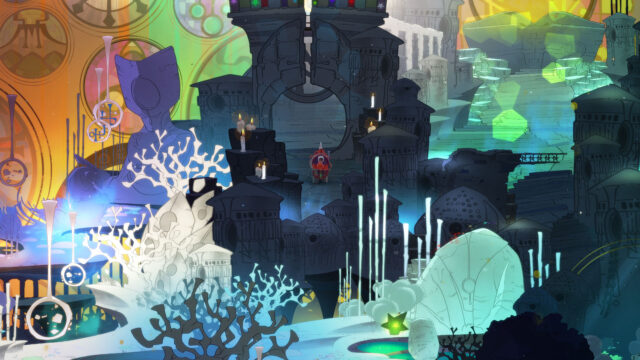 Pyre scenery