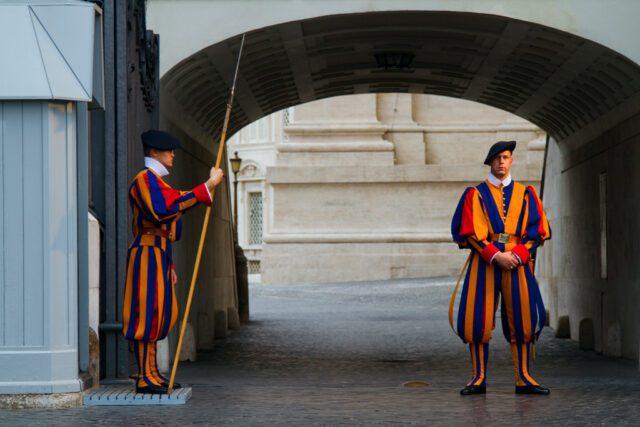 Vatican Swiss Guards