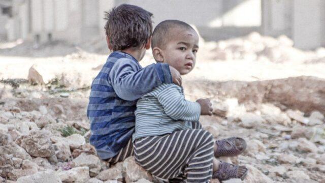 Παιδιά στον πόλεμο της Συρίας