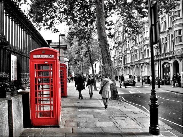 Το λονδρέζικο τηλέφωνο
