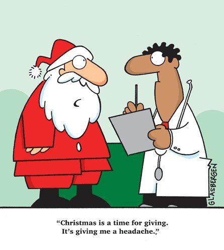 το άγχος των Χριστουγέννων