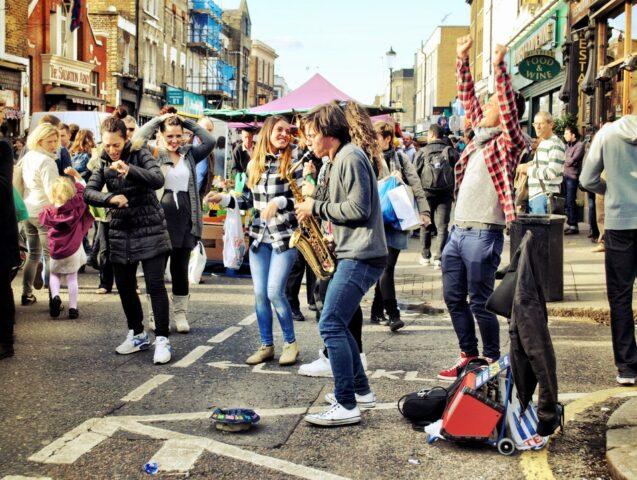 Open Portobello Market στο Λονδίνο