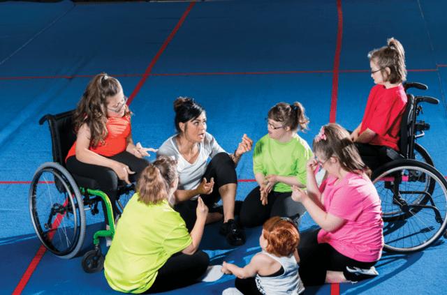 θεατρικό παιχνίδι-κινητική αναπηρία