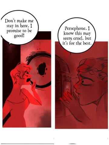 Εφιάλτης ή πραγματικότητα; Η Δήμητρα φυλακίζει την Περσεφόνη .