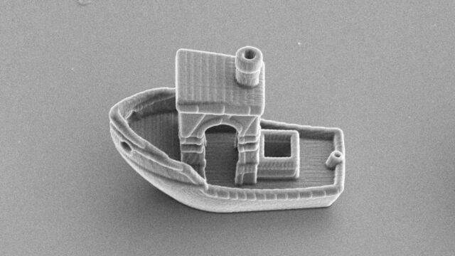 Μικροκολυμβητής: μικροσκοπική βάρκα