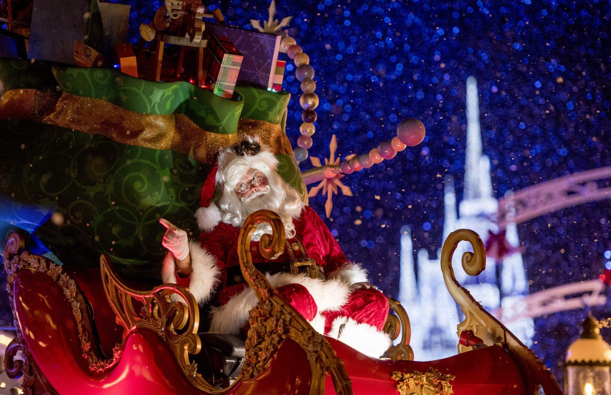 Χριστούγεννα σε θεματικά παρκά