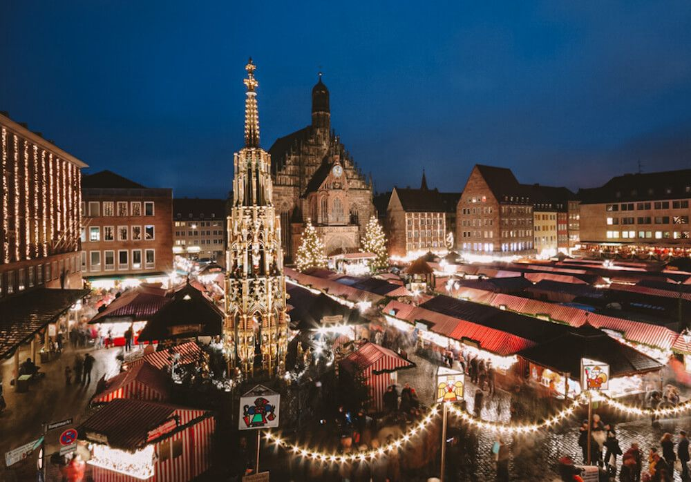 Η μαγεία των Χριστουγέννων στην Νυρερμβέργη