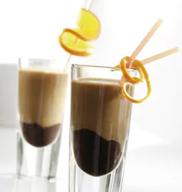 καφές πορτοκάλι