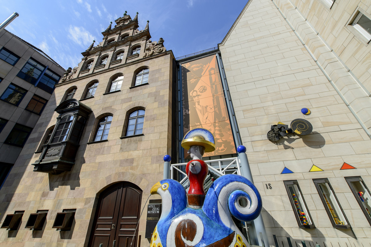 To μουσείο παιχνιδιών στην Νυρεμβέργη