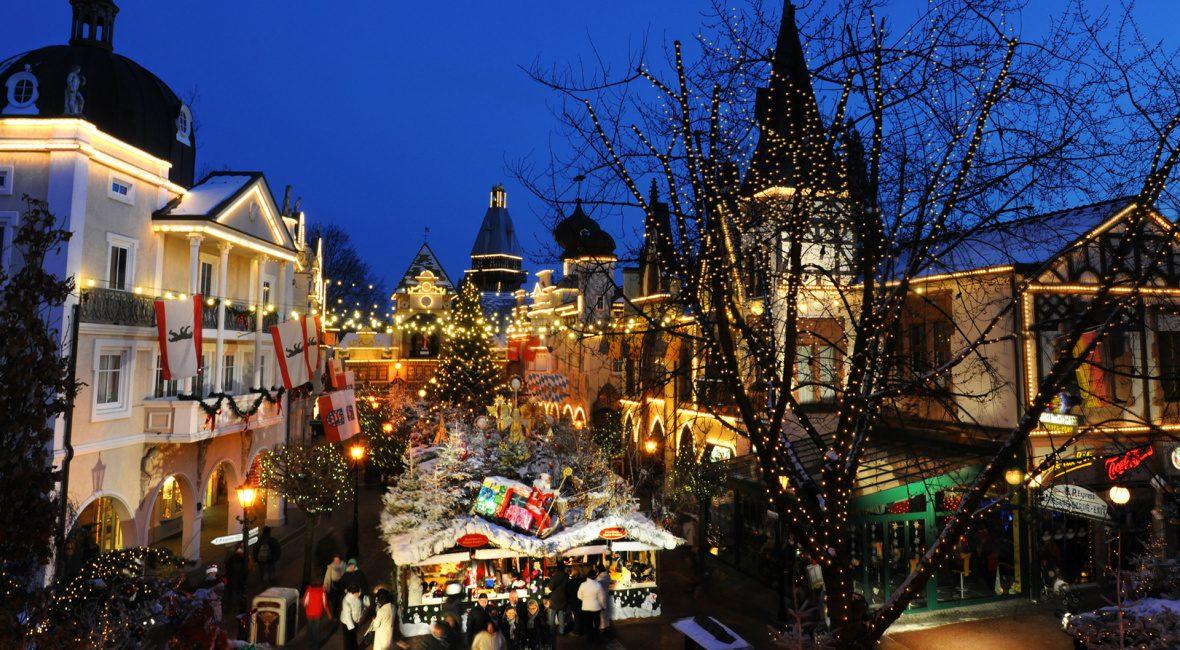 Europa Park τα Χριστούγεννα στην Γερμανία