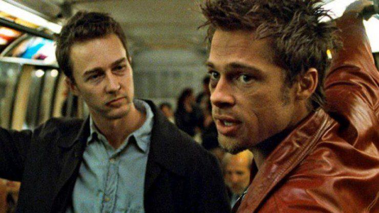 Edward Norton, Brad Pitt, Fight Club