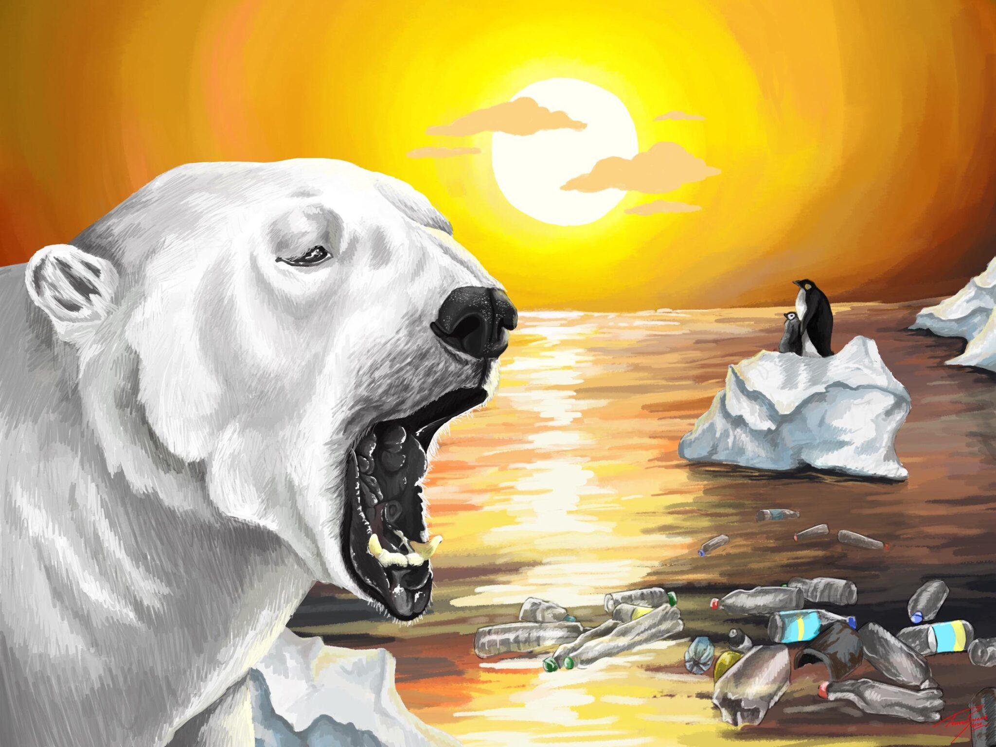 κλιματική αλλαγή ζώα