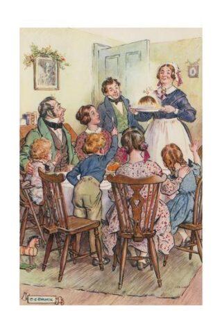 Το γιορτινό τραπέζι στην χριστουγεννιάτικη ιστορία