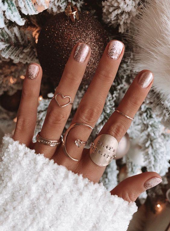 γιορτινά nail art