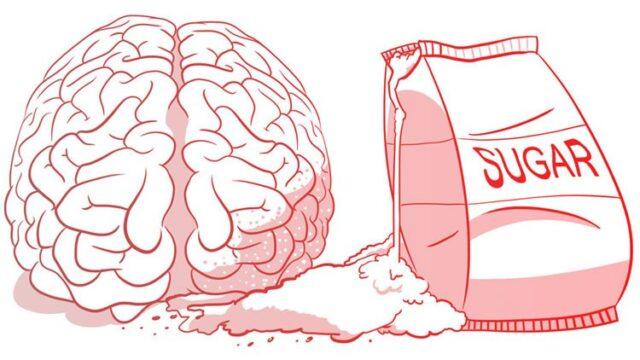 Πως επιδρά η ζάχαρη στον εγκέφαλο