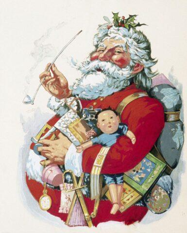 Ο Άγιος Βασίλης του Thomas Nast