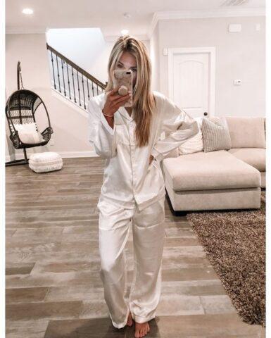μεταξωτές πιτζάμες