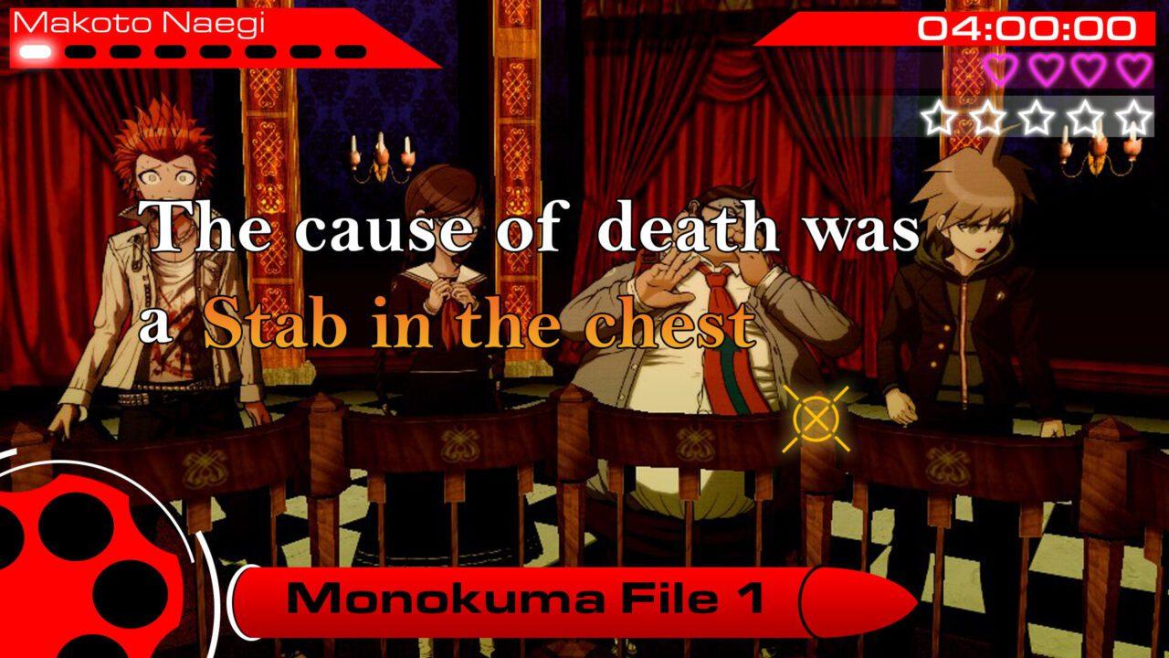 Danganronpa, monokuma.trial