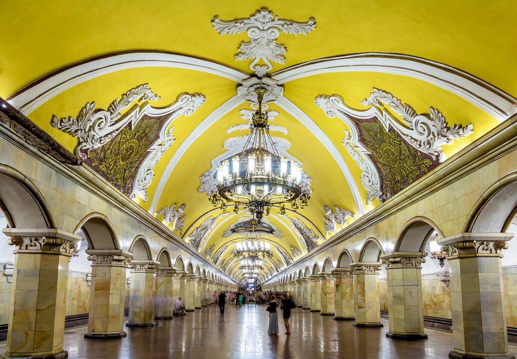 Το μετρο της Μόσχας
