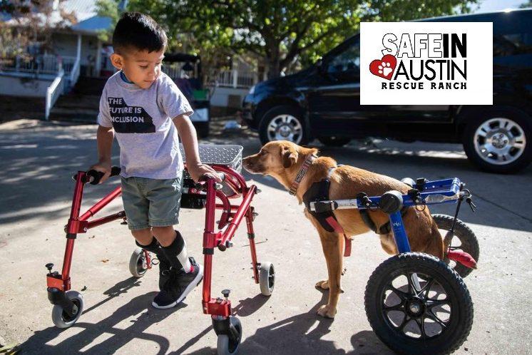 «Safe in Austin»: Μια διαφορετική διαδικασία αποκατάστασης για παιδιά και ζωάκια με ειδικές ανάγκες