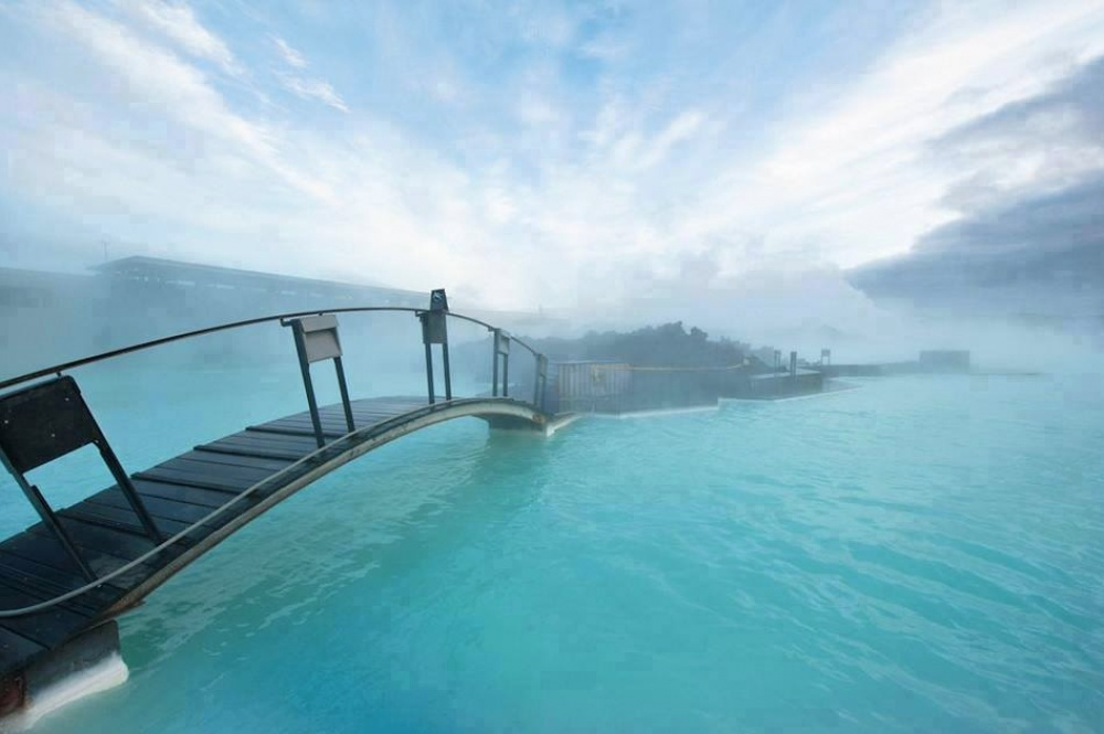 Τα χρώματα της λίμνης Blue Lagoon στην Ισλανδία