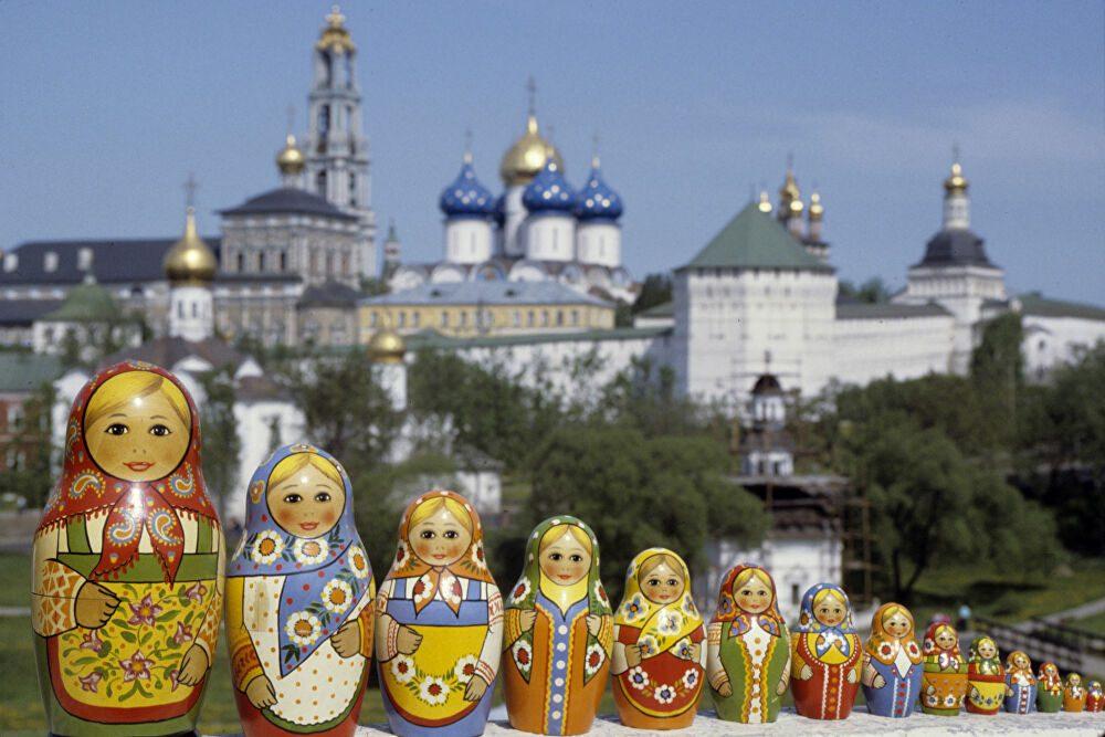 Ματριόσκα ή Μπασμπούσκα το διάσημο σουβενίρ της Ρωσίας