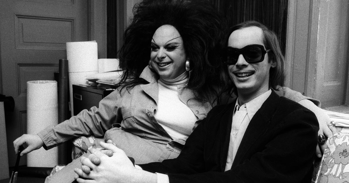 John Waters and Divine