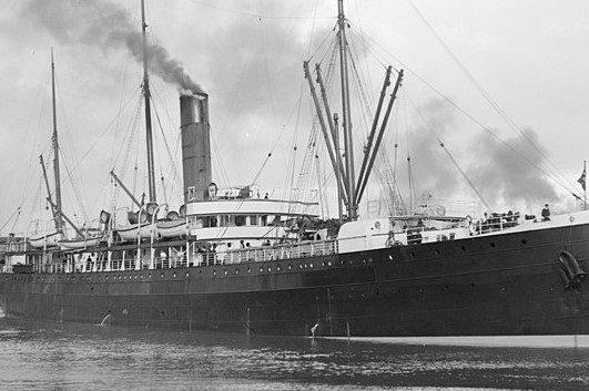 το ατμόπλοιο Warrimoo