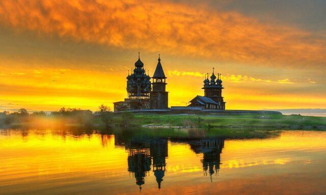 Λίμνη Ονεγκα Ρωσία