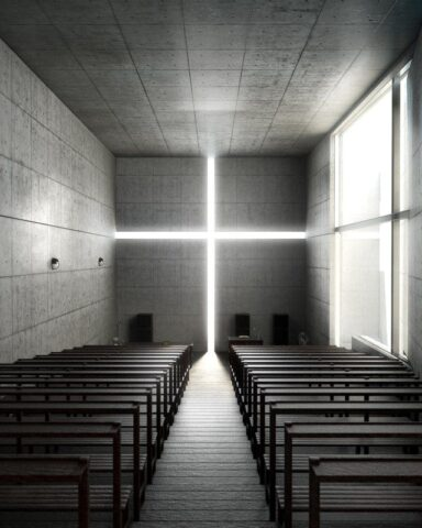 Chirch of Light, Ιάπωνες Starchitects