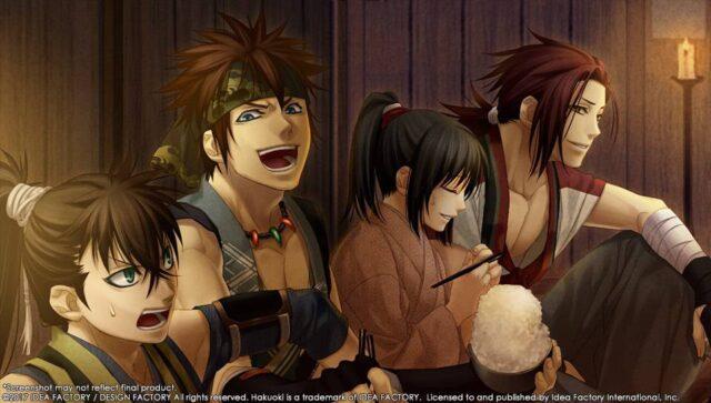 visual novel, shinsegumi, samurai, kyoto winds