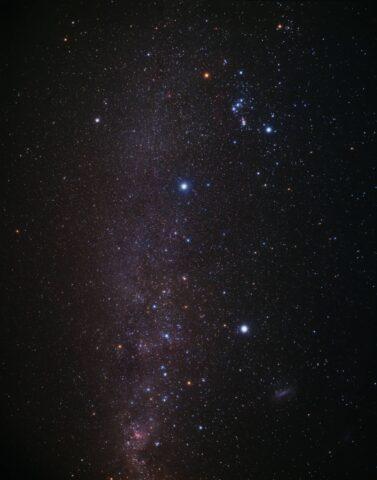 Αστερισμός Dorado όπου βρίσκεται ο εξωπλανήτης χωρίς σύννεφα WASP-62b