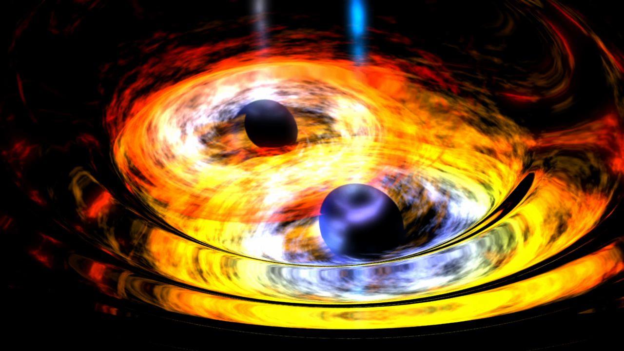 Μαύρες τρύπες που συγχωνεύονται