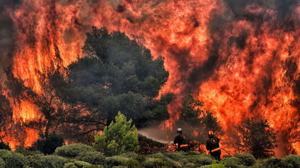 επιπτώσεις της κλιματικής αλλαγής στην Ελλάδα