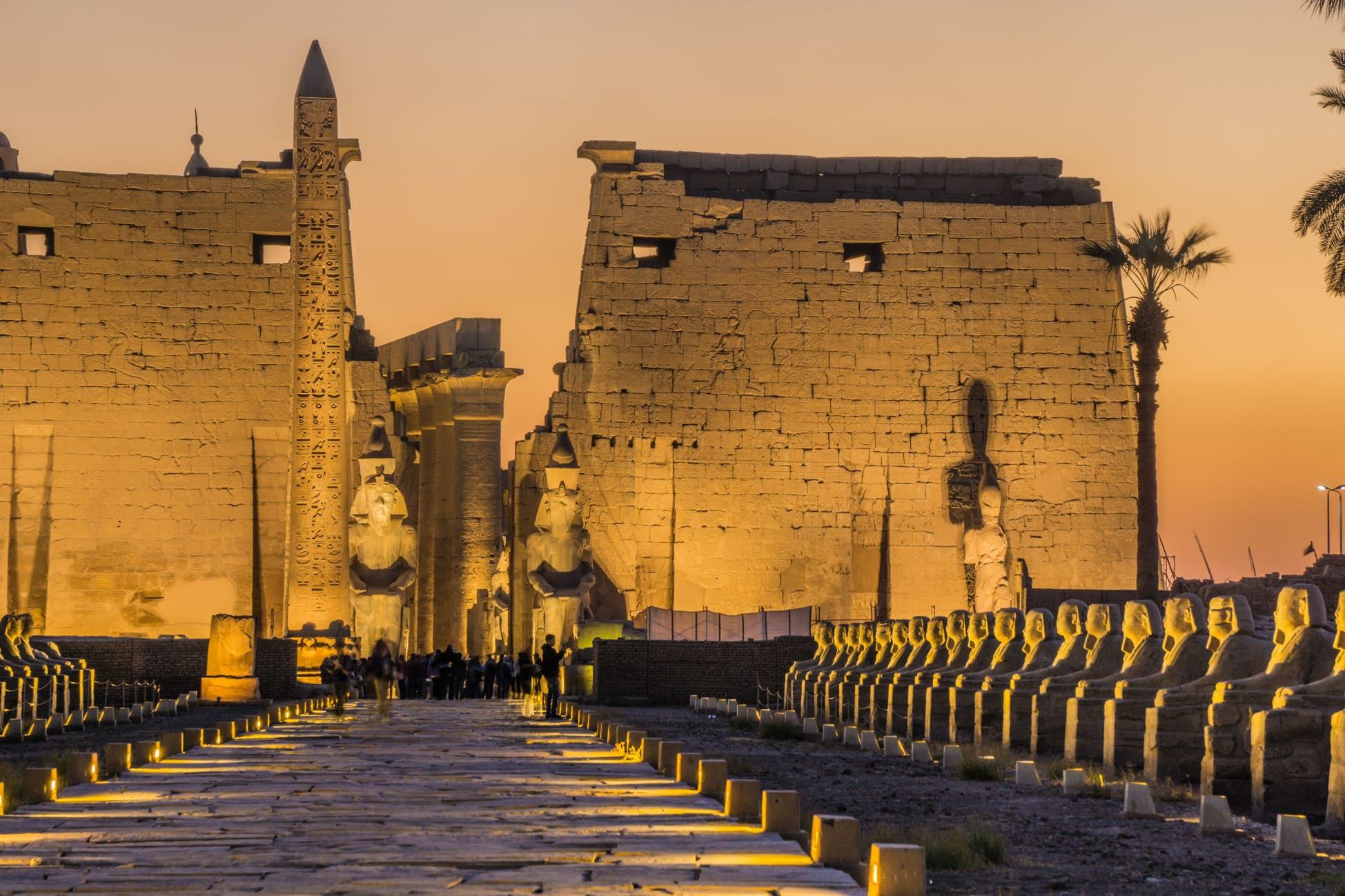 Το μαγευτικό Λούξορ στην Αίγυπτο